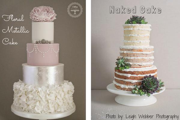 9 Wedding Cakes 600x400