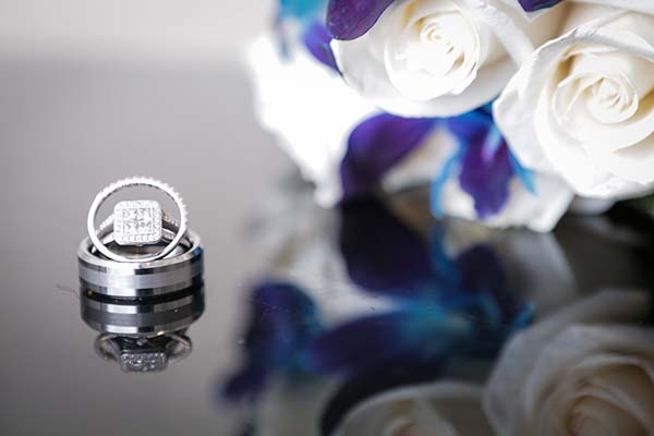 Wedding And Engagement Ring At Chapel Of The Flowers