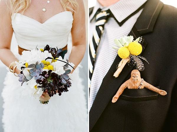 Wonderful Chewbacca Wedding Flowers
