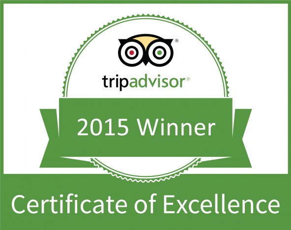 Chapel of the Flowers TripAdvisor Certificate of Excellence Reviews Award