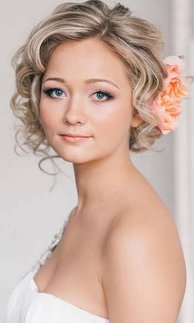 Your guide for summer wedding hair and make up bridal hairstyles short hair junglespirit Gallery