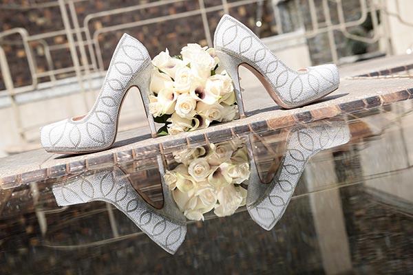 Wedding Day Shoes :: How to Break In your wedding heels