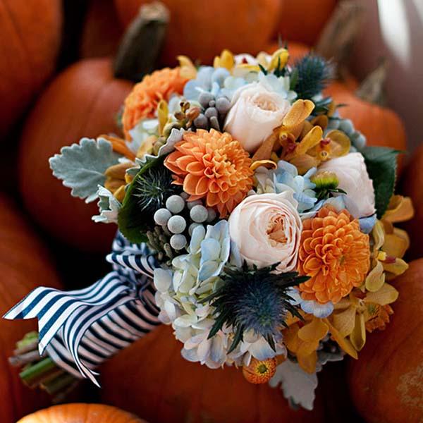 wedding flower ideas for fall weddings. Black Bedroom Furniture Sets. Home Design Ideas