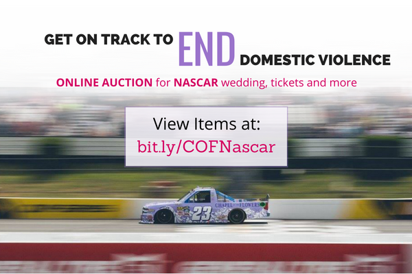 Nascar Auction to Raise Awareness on Domestic Violence