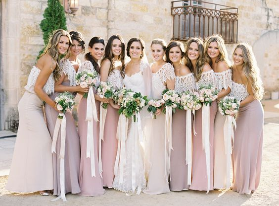 Designer bridesmaid dresses for less