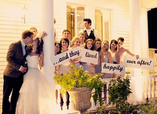 Happily Ever After Sign | Fairytale Wedding I Beauty And The Beast Wedding  Ideas