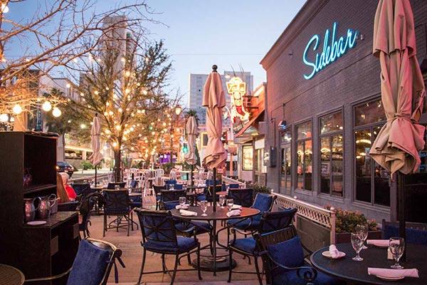 Las Vegas Wedding Reception Venue   Trendy Downtown Grill   Patio