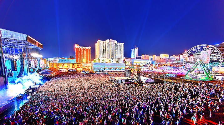Music Festivals in Las Vegas during the Summer