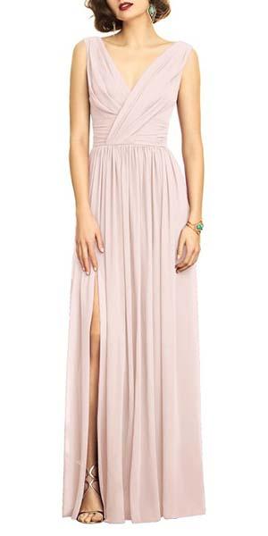 Mother of the Bride Groom Dress Ideas | Chiffon Sheath Dress