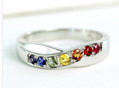 LGBTQ Wedding Rings and Bands | Same-Sex Wedding in Las Vegas | LGBTQ Wedding Ideas