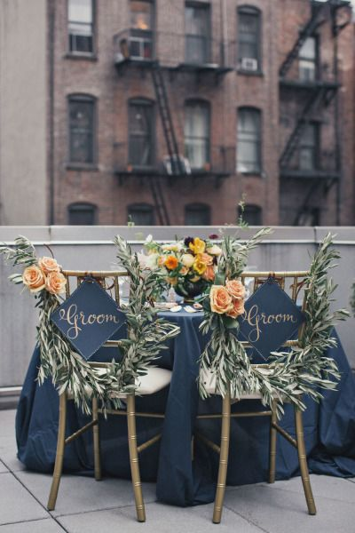 Stylish Gay-friendly Wedding Decor | Same-Sex Wedding in Las Vegas | LGBTQ Wedding Ideas