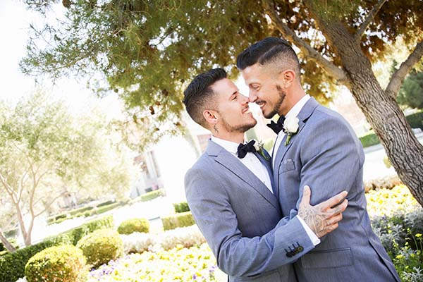 Same-Sex Wedding in Las Vegas | LGBTQ Wedding Ideas