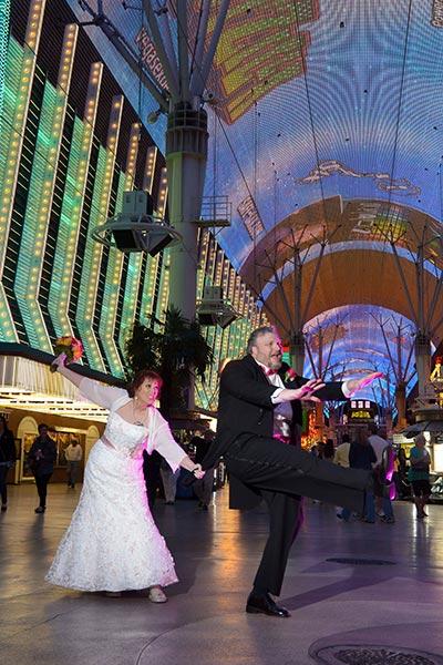 Las Vegas Vow Renewal - Vow Renewal | Second Marriage | Older Couple Wedding Ideas