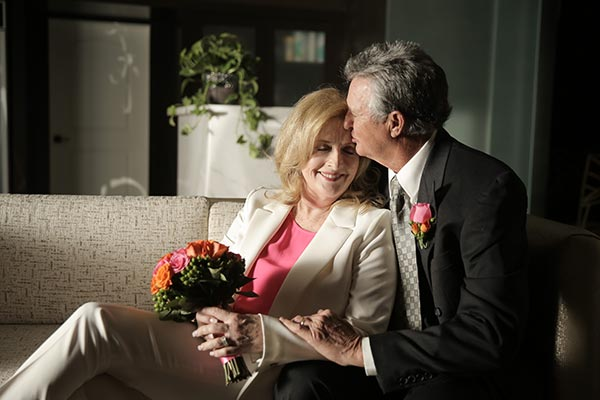 Vow Renewal | Second Marriage | Older Couple Wedding Ideas