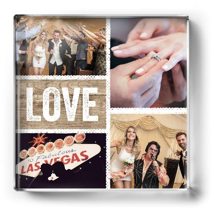 Photo Paperweight | Wedding Photo Gifts and Keepsake Ideas