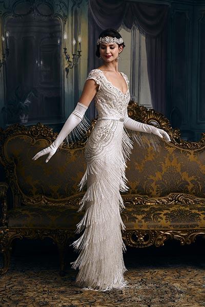 Great Gatsby Wedding Ideas Chicago 1920 S Roxie Hart Dress By Elza Jane Howell