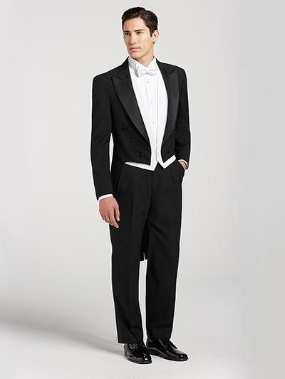 Great Gatsby Wedding Ideas | 1920's Groom Tuxedo with Tails