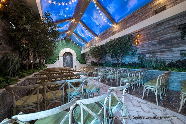 Barn Weddings in Las Vegas at Chapel of the Flowers in Glass Gardens