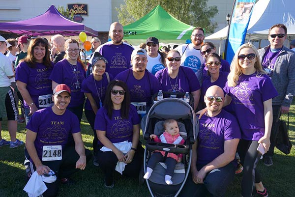 Walk for Wishes - Make a Wish, Chapel of the Flowers Team