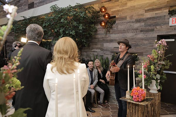 Jerrod Niemann Crashes Wedding in Las Vegas at Chapel of the Flowers