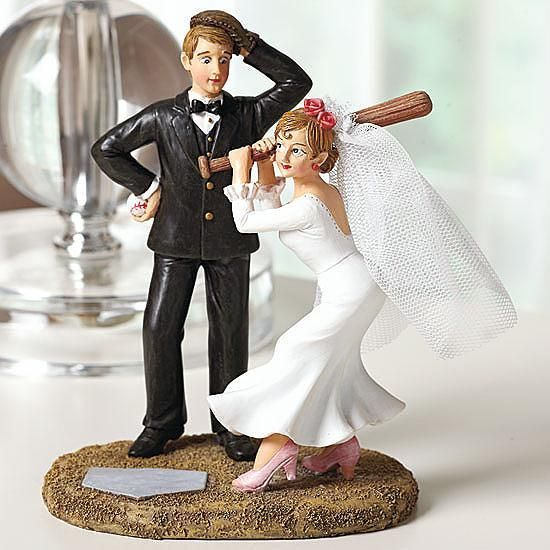 wedding cake toppers baseball theme sports themed wedding ideas march wedding madness 26390