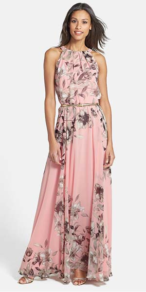 Floral Mother of the Groom Dresses
