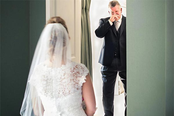 Dad First Look | Wedding Photo Ideas | How to Include Dad in Your Wedding
