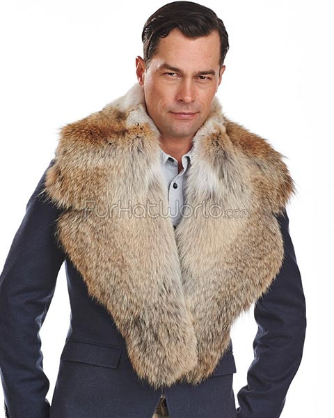 Fur Collar for Game of Thrones Groom Attire | Game of Thrones Wedding Ideas