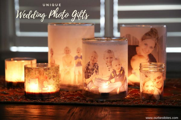 Candles with Photos | Wedding Photo Gifts and Keepsake Ideas